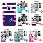 Shockproof Hybrid Protective Rubber Matte Hard Case Cover For Apple Iphone 4 4s