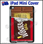 Fits Apple iPad Mini 1, 2 & 3 Hard Cover Willy Wonka Chocolate Golden Ticket 505