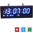 LED Large Digital Wall Colck Desk Clock with Calendar Temperature Show