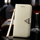 Luxury Diamond Stand Wallet Leather skin Flip Cover Case For iPhone 6 /6 Plus