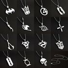 Necklace Super Heroes Anime Hot Multi Style Fashion Silver Pendant 1pc
