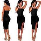 New Womens Ladies Sexy Bodycon Cocktail Party Evening Formal Slim Dress Dresses