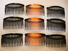 12 pcs Combs Plastic Hair Clips Side. image