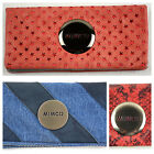 Mimco- Mim Wallet- Leather Wallet- Choose Colour- BNWT