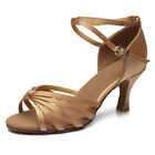 Kyпить Women Girl lady's Ballroom Tango Latin Dance Dancing Shoes heeled Salsa 11 Color на еВаy.соm