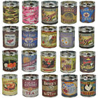 SCENTED CANDLES - 100 HOUR BURN SOY PARAFFIN BLEND WAX - METAL TIN CAN CONTAINER