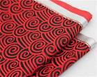 Auspicious clouds pattern silk suits ties fabric decoration pillow cloth table