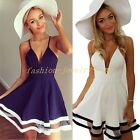 Sweet Women Summer Casual Sleeveless Party Evening Cocktail Short Mini Dress
