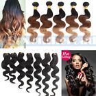 4 bundles Ombre Remy Brazilian Body Wave Human Hair Weave Extension all 200g
