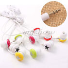 Universal 3.5mm Plug In-ear Star Stereo Earbud Earphone For Mobile Phone Mp3 MP4