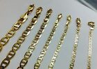 """AUTHENTIC 10K SOLID GOLD MEN / WOMEN MARINER LINK CHAIN SIZE16-36"""" FREE SHIPPING"""
