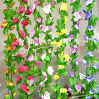 Artificial Silk ROSE Flower Garland Vine Hanging Decor For Home Wedding Or Party