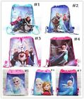 Disney Frozen Anna, Elsa, Olaf, Sven, Kristoff Draw String Bag Backpack Princess