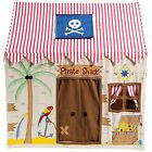 Fabric Pirate Shack Children's Playhouse / Play Tent / Wendy House by Win Green