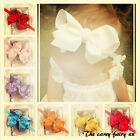 Bow headband extra large boutique style babies girls toddlers 6 inch oversized