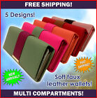 Fashion Wallet NEW handwallet multi pockets high quality multi colours
