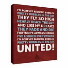 West Ham Chant forever Blowing Bubbles Canvas Art Cheap Wall Print Home Interior