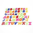 Set Of Colorful Teaching Magnetic Letters & Numbers Fridge Magnets Alphabet