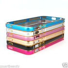 Luxury Ultra Thin Metal Aluminium Alloy Bumper Frame Case Cover for iPhone 5 5sM