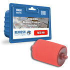 COMPATIBLE NEOPOST HASLER 300400 / 35666 RED FRANKING MACHINE INK ROLLER