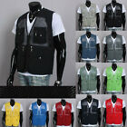 Mens Casual Fishing Touring Travel Mesh Vests-Climbing-Hunting-Various work-New