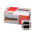1 / 2 x Energizer 362 361 Battery Watch Batteries Silver Oxide SR721SW AG11 G11