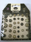 Great lot of assortment of brads, eyelets, charms BUY 5 - GET FREE SHIPPING!