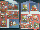 Kanban Christmas 'Santa's Express - Delivery +/or Road Trip' - 8x A4 - BN secs