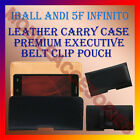 BELT CASE for IBALL ANDI 5F INFINITO MOBILE LEATHER POUCH COVER CLIP HOLDER NEW