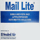 Mail Lite Sealed Air ~ White Bubble Padded Postal Envelopes ~ ALL Sizes