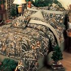 Realtree Max 4 Camo Comforter Set with FREE SHIPPING AND VALANCE