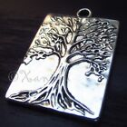 Tree Of Life Wholesale Silver Plated Necklace Pendant Charms C1537 - 5 Or 10PCs