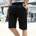 Stylish Men's Slim Fit Beach Casual Straight Shorts Trousers Summer Short Pants