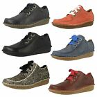 Ladies Clarks Lace Up Casual Shoes Style - Funny Dream