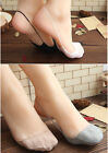 Women Cotton Invisible Low Cut Stretch Sling No Show Boat Socks Prevent Fall Out