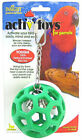 JW PET BIRD TOY PARROT HOLEE ROLLER RUBBER HOL-EE FREE SHIPPING TO THE USA
