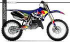 YAMAHA YZ125 YZ250 2002-2014 RED BULL STYLE FULL GRAPHIC KIT