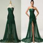 LONG Mermaid Prom Evening Party Cocktail Dress Wedding Gown Bridesmaid Dresses