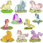 ** PONY ** Machine Applique Embroidery Patterns ** 10 Designs