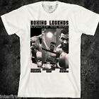 Boxing, T-Shirt, Mike Tyson, Marvin Hagler, Tommy Hearns, Mohammad Ali, SZ S-2XL