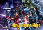 THE AVENGERS  PERSONALISED PLACEMAT