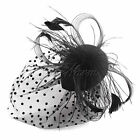 New Headband Hat Hair Fascinator Feather Wedding Ladies Day Racing Royal Ascot