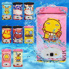 Cartoon Waterproof Underwater Pouch Dry Bag Case For iPhone Samsung Sony Phones