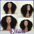 "Queen Sexy Brazilian Curly Full Lace Wig Remy Human Hair 130% density 12""-24"""