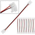 New 2 Pin Connector PCB For Single Color 3528 8mm 5050 10mm LED Strip Solderless