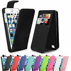 Magentic Top Flip Leather Wallet Case Cover For Apple iPhone 5 5s with Card Slot