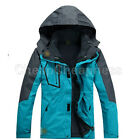 HOT Men Waterproof Windproof 3in1 Soft Shell Fleece Ski Snowboard Outdoor Jacket