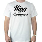 King of the Swingers Funny Golf Slogan T-Shirt