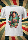 Disney Princess Tiana Indian Tattoo Sexy T Shirt Vest Top Men Women Unisex 127