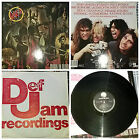 Slayer Reign In Blood Original 1986 Vinyl LP Album DEF JAM